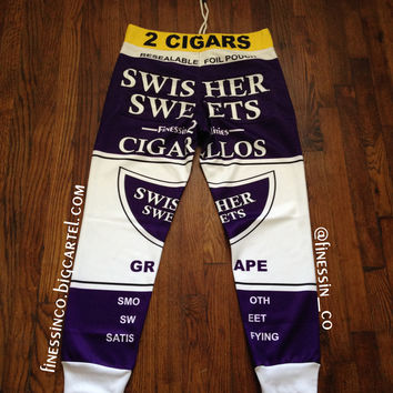 Grape Swisher Joggers | Finessin Co.