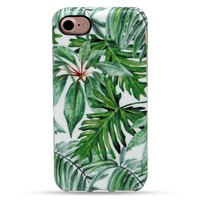 Ancient Leaves Case Cover for iPhone X 8 6S 7 Plus &Gift Box