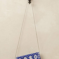 Batik Beaded Crossbody
