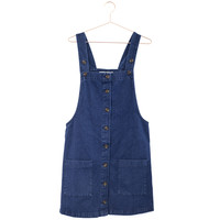 Lola Denim Overall Dress