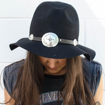 Arizona Concho Hat Band - Black | Spell & the Gypsy Collective