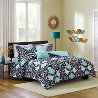 Cozy Soft® Mia Reversible 4-5 Piece Comforter Set