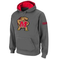 Maryland Terrapins Big Logo Pullover Hoodie – Charcoal