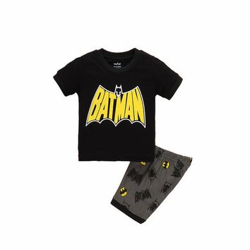 Batman Super Hero Summer Pajamas