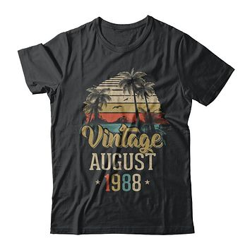Retro Classic Vintage August 1988 30Th Birthday Gift
