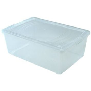 Clear Plastic Box - Large Shoe