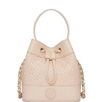 Tory Burch Marion Quilted Mini Bucket Bag