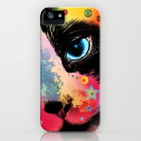cat iPhone & iPod Case by Mark Ashkenazi | Society6