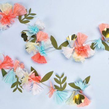 Floral Bouquet Garland