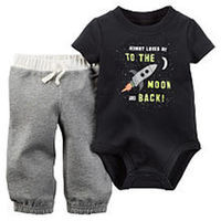 Carter's Boys 2 Piece Black