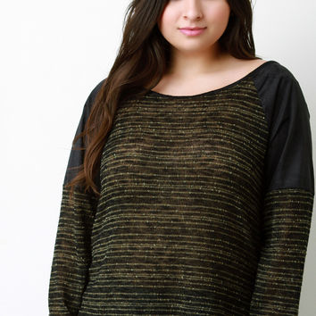 Brush Your Suede Shoulders Off Long Sleeve Top
