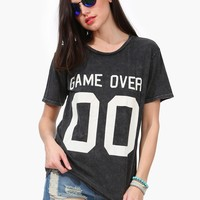 Game Over Tee Shirt
