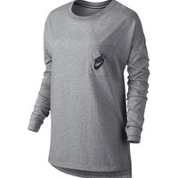 Nike Women's Signal Long Sleeve Graphic Shirt | DICK'S Sporting Goods