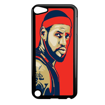 Lebron James Cleveland Fan ARt Ipod 5 Case