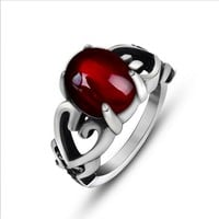 Classical beauty acme agate collocation scout flower lovers ring Jewelry SA666
