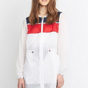 Fila Turin Festival White Anorak - Urban Outfitters