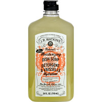 J.r. Watkins Dish Soap - Moisturizing - Pomegranate And Acai - 24 Fl Oz