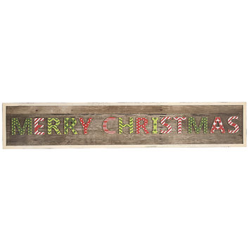 Creative Co-Op Merry Christmas Wall Decor