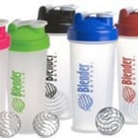 Blender Bottle W/Wire Ball-Large 28 Oz. Colors Vary