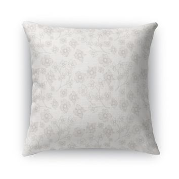 EMA OFF WHITE Accent Pillow By Terri Ellis