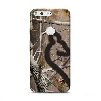 Love Browning Deer Camo Real Tree Couple 2 Google Pixel XL 2 case