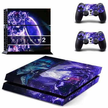 Destiny 2 Vinyl PS4 Skin Sticker for Sony playstation 4 Console and Two Controller Skins