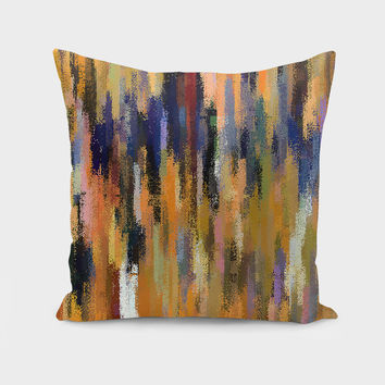 «Pixel World» Throw Pillow by David Manlove - Numbered Edition from $27 | Curioos