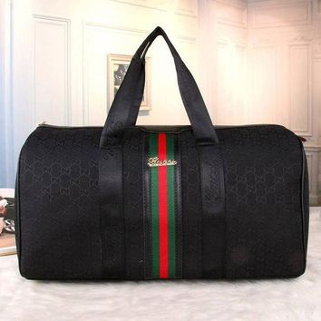 DCCKB3R Gucci Women Luggage Bag Leather Shoulder Bag Satchel Tote Handbag