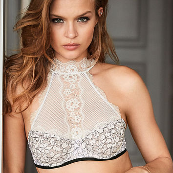 Lace High-neck Unlined Demi Bra - Dream Angels - Victoria's Secret