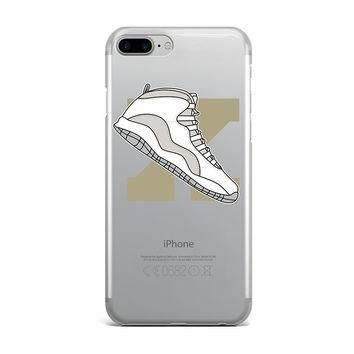 LARGE JORDAN 10 OVO RETRO SHOE EMOJI CUSTOM IPHONE CASE