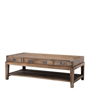 Classic 3 drawer Coffee Table | Eichholtz Military