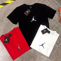 Jordan Fashion Men Women Casual Sport Basketball T-Shirt Top Blouse