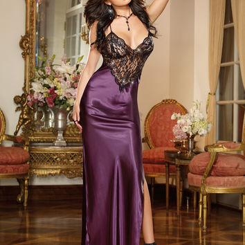 To Have and To Hold Gown and Thong
