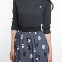 Glamour Kills Clothing - Girls The Skully Dress