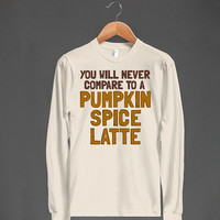 Pumpkin Spice Latte | Long Sleeve T Shirt | Fall Shirts Pumpkin Shirt PSL Shirts Pumpkin Spice Shirts Sizes Small Medium Large XLarge