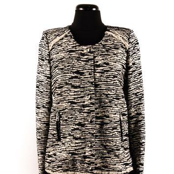 IRO Black and White Pattern Jacket