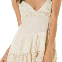 RAGA TIERED LACE TANK DRESS | Swell.com