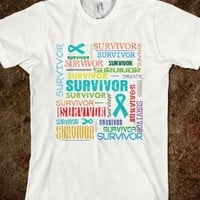 Ovarian Cancer Survivor Collage Shirts