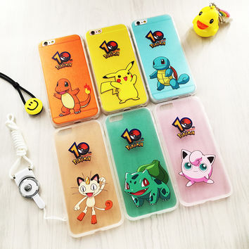 Pokémon cute Pikachu Case iPhone6/6s 6plus 5se
