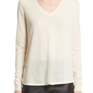 ATM Anthony Thomas Melillo Raw Edge Cashmere Sweater (Nordstrom Exclusive) | Nordstrom