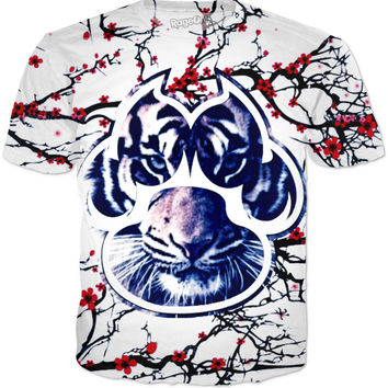 Cherry Blossom X Tiger T-shirt