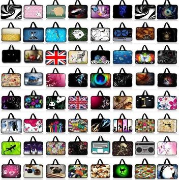 7 9.7 10 10.1 11.6 12 13 13.3 14 14.4 15 15.6 17 17.3 inch Laptop Sleeve Tablet Bag Notebook Case For Asus HP Acer Lenovo Asus