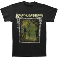 Black Sabbath Men's  Photo Framed T-shirt Black Rockabilia