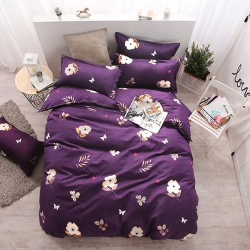 Autumn bedding set super king size