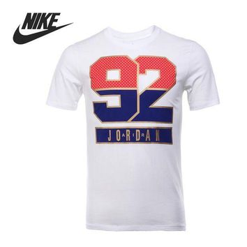 PEAP78W Original New Arrival  NIKE  AJ 7 92 TEE  Men's T-shirts  short sleeve Sportswear