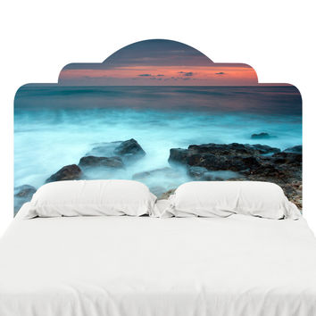 Mystic Beach Headboard Decal