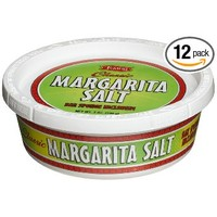 Twang-A-Rita, Classic Margarita Salt, 6-Ounce Tubs (Pack of 12)