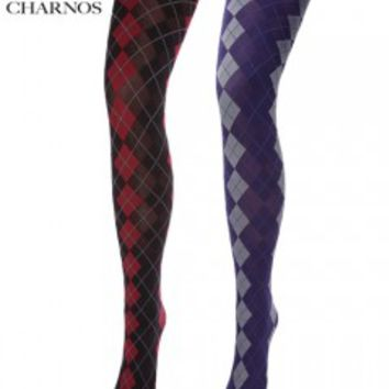 Mary Portas & Charnos Argyle Tights - Tights, Stockings, Shapewear and more - MyTights.com - The Online Hosiery Store