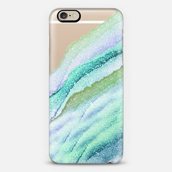 FLAWLESS WAVES LIMETTO by Monika Strigel iPhone 6 case by Monika Strigel | Casetify