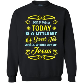 FUNNY SWEET TEA AND JESUS T-SHIRT Christian Bible Gift